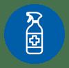 Sanitizing locations