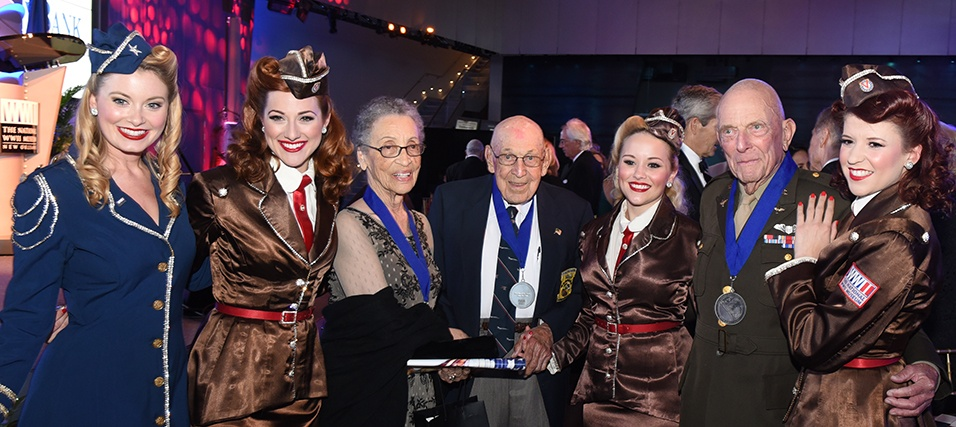 Silver Service Medallion Winners and the Victory Belles