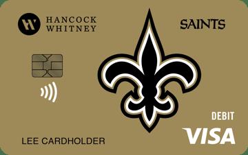 New Orleans Saints Debit Card