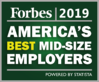 Forbes 2019 America's Best MidSize Employers