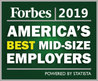 Forbes 2019 Best Employer