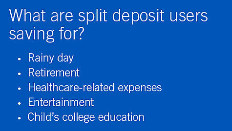 Encourage your employees to save with split deposits