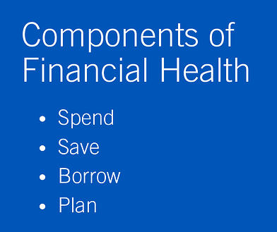 What's the state of your financial health?
