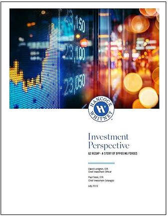 Investment Perspective: A story of opposing forces