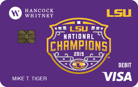LSU National Champions Debit Card