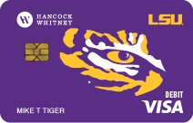 LSU Debit Card