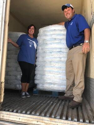 Hancock Whitney Assocaites helping out with the impacts of Hurricane Michael