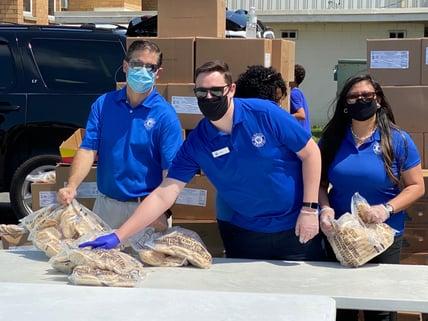 PCB - Feeding the Gulf Coast HW Associates Volunteering
