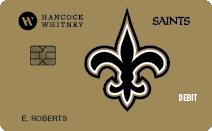 Saints Debit Card
