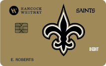 Saints Debit Card