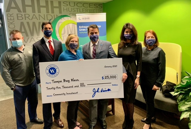Hancock Whitney awards Tampa Bay Wave competitive grant