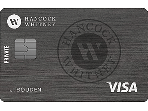 Hancock Whitney Preferred Visa Platinum® Credit Card