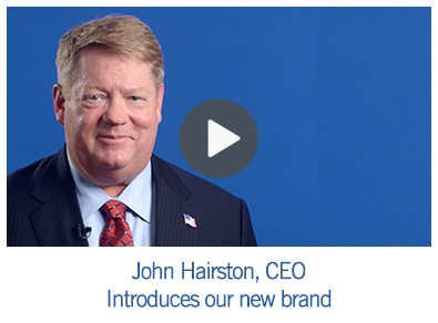 John Hairston, CEO, Introduces our new brand